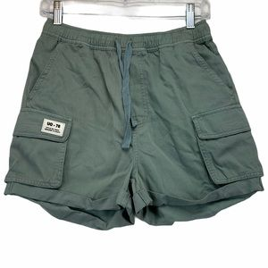 BDG Muted Seafoam Cargo Shorts Small